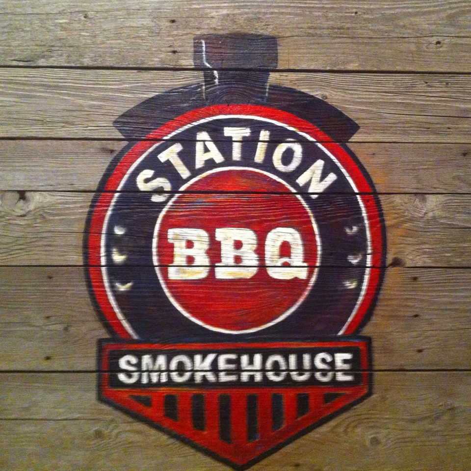 Station BBQ Smokehouse logo