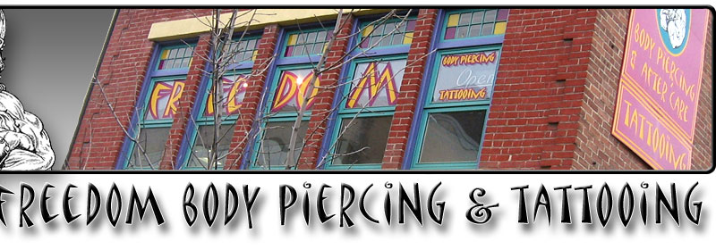 Freedom Body Piercing & Tattooing logo