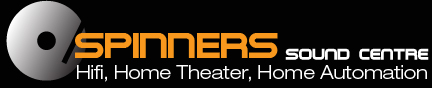 Spinners Sound Centre logo