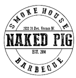 The Naked Pig BBQ and Smokehouse logo