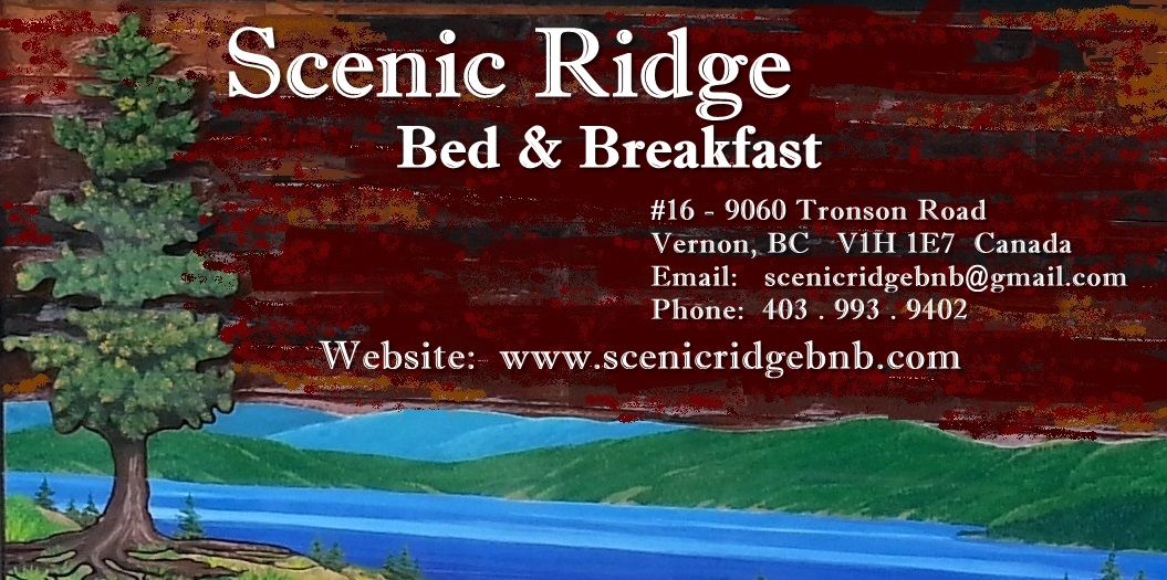 Scenic Ridge Bed & Breakfast logo