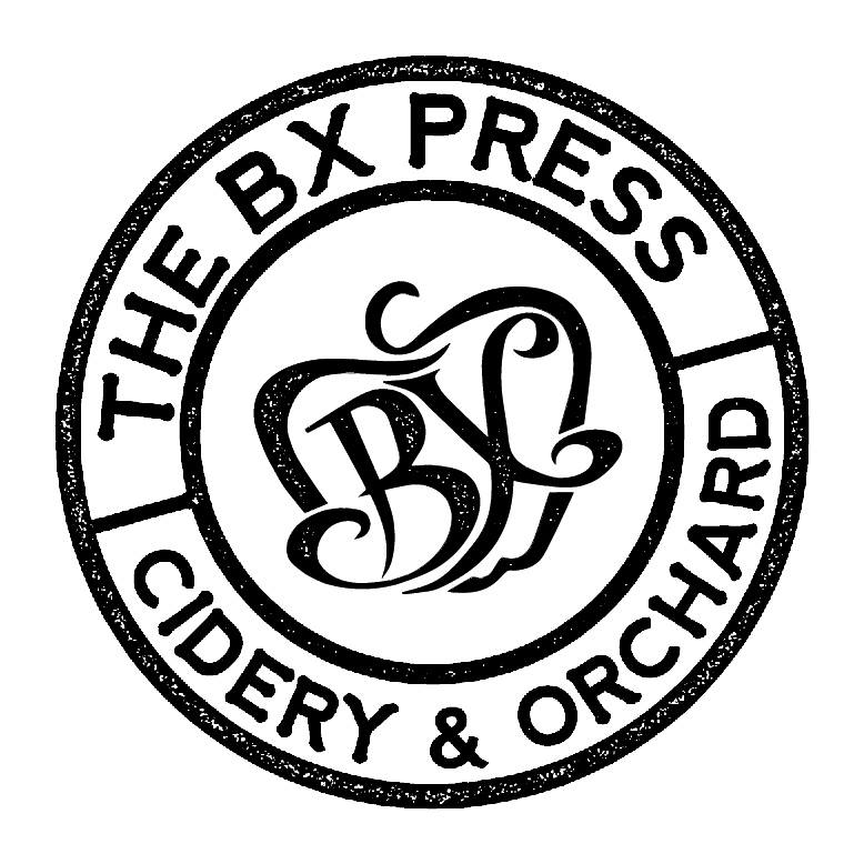 The BX Press Cidery & Orchard logo